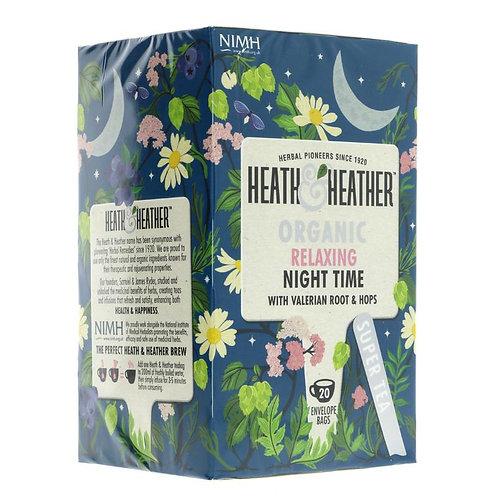 Heath & Heather Organic Night Time Tea 20 bags