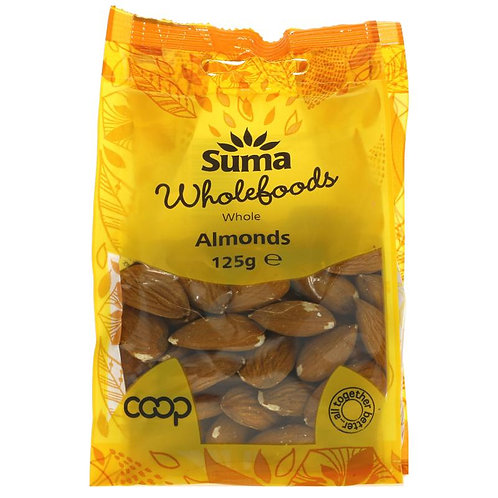 Suma Whole Almonds 125g