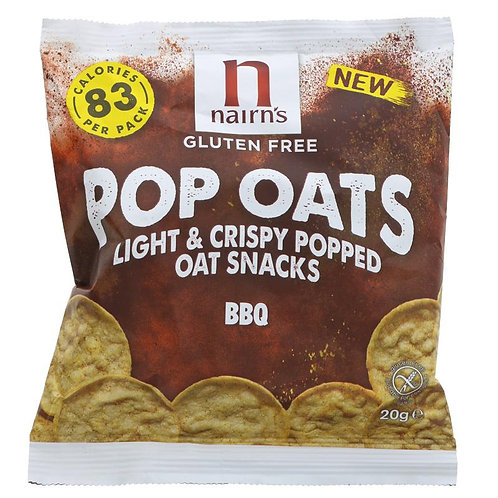 Nairn's BBQ Popped Oat Chips 20g