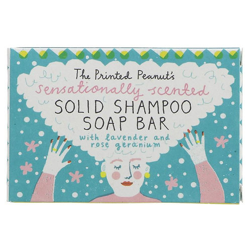 The Printed Peanut Shampoo Bar 95g