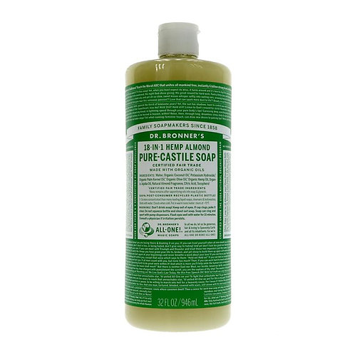 Dr Bronners 18 in 1 Almond Castile Soap 946ml