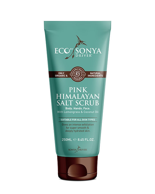 Eco By Sonya Organic Pink Himalayan Salt Scrub 250ml