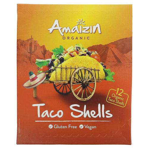 Amaizin Organic Taco Shells 150g