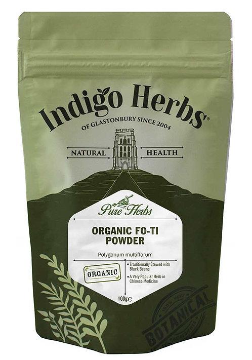 Indigo Herbs Organic Fo-Ti Powder 100g