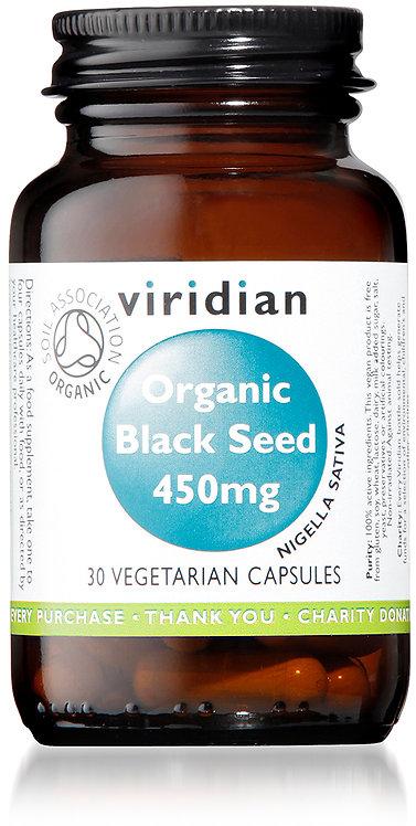 Viridian Black Seed Capsules 450mg
