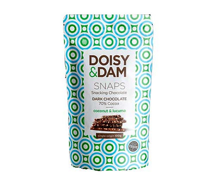 Doisy & Dom Coconut & Lucuma Chocolate Snaps 100g