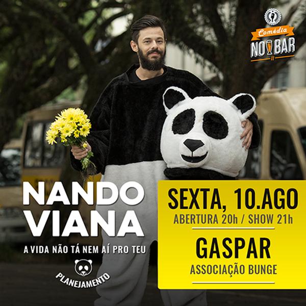 Show Nando Viana :: Gaspar
