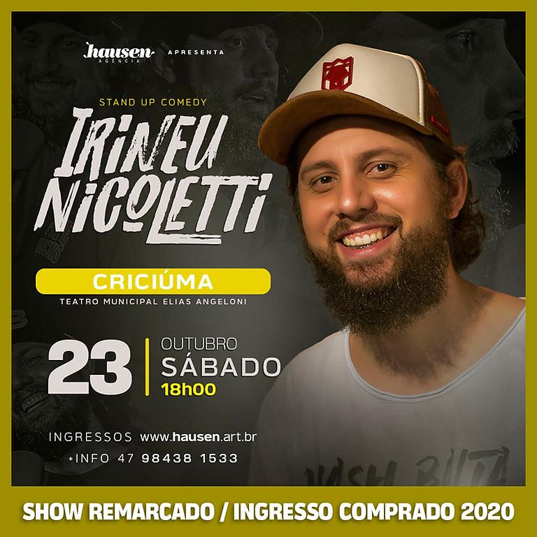ESPECIAL Criciúma | Irineu Nicoletti | ORIGINAL