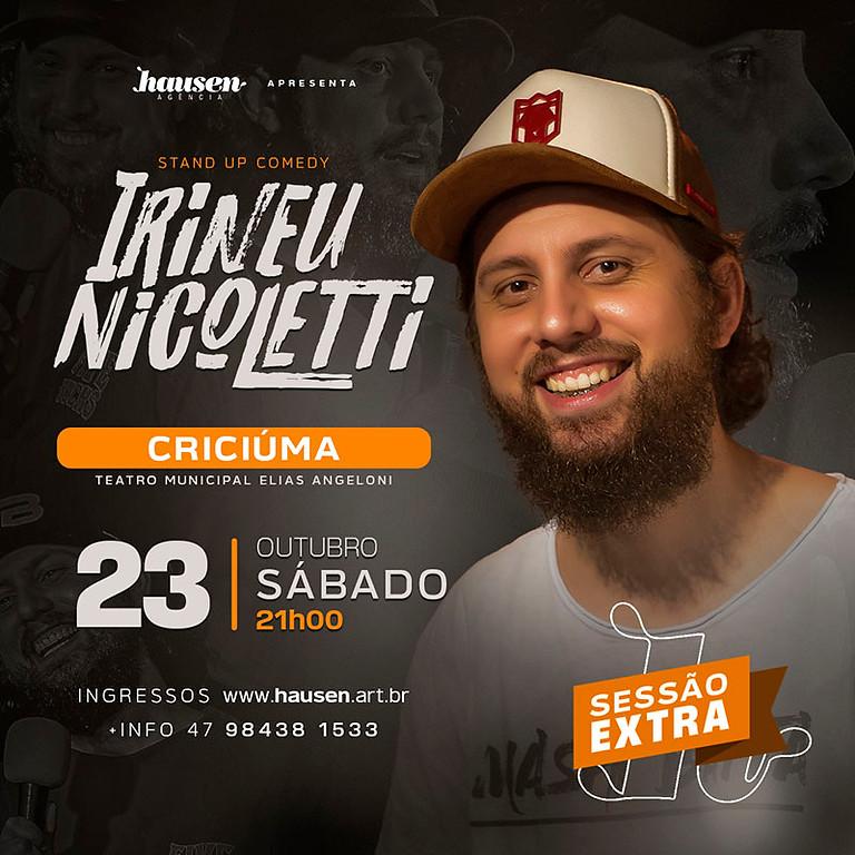 Criciúma | Irineu Nicoletti | 2ª Sessão 21h