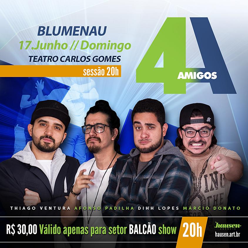 Show 4 Amigos :: 20h00