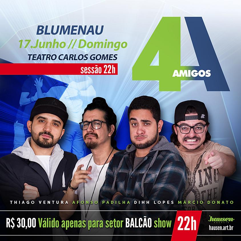 Show 4 Amigos :: 22h00