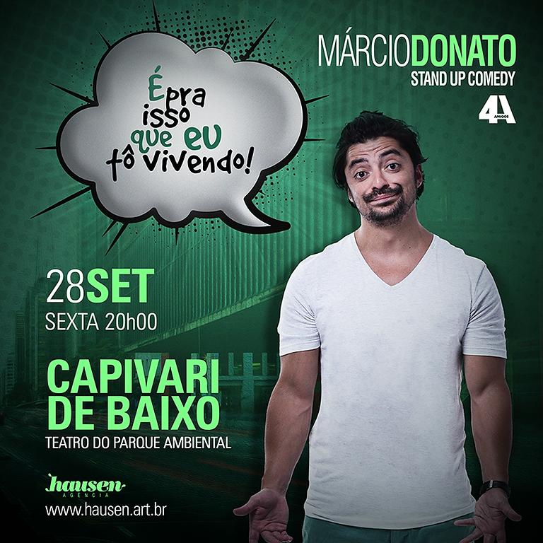 Márcio Donato (4Amigos) :: Capivari de Baixo :: 20h00