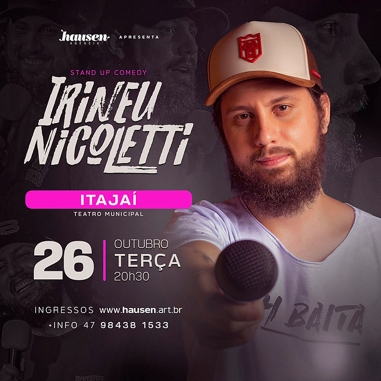 Itajaí :: Irineu Nicoletti :: Terça 26/10
