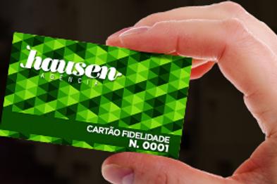 Cartão Fidelidade Hausen