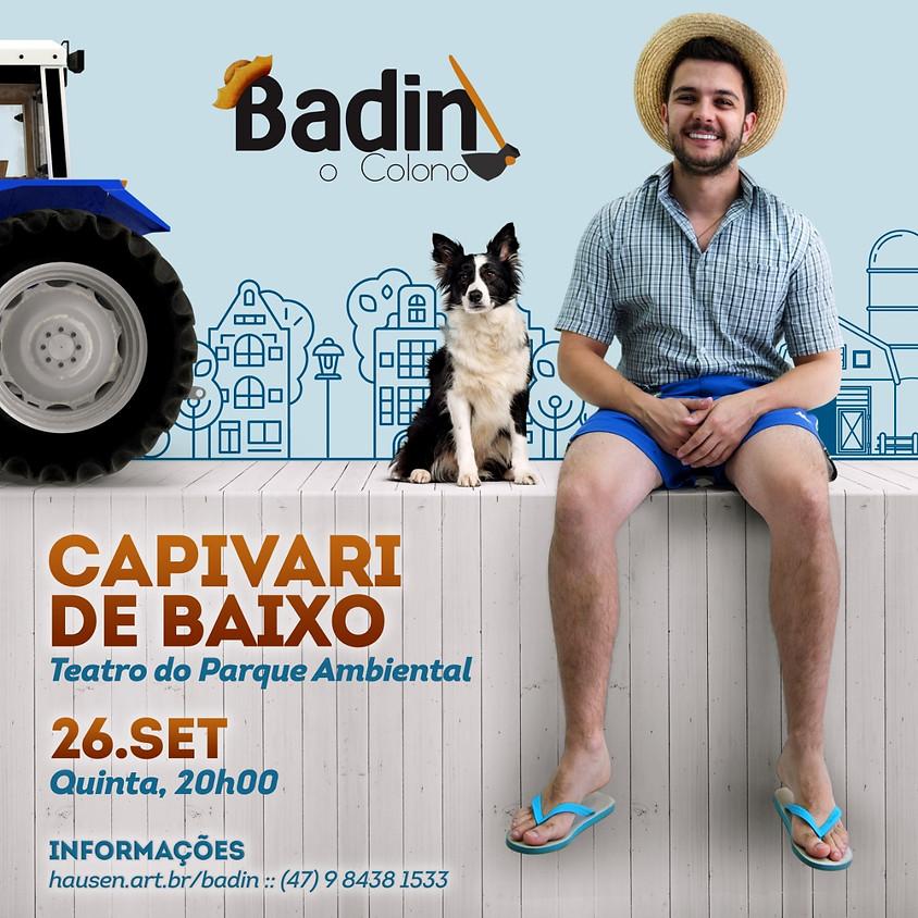 Capivari de Baixo :: Badin, O Colono
