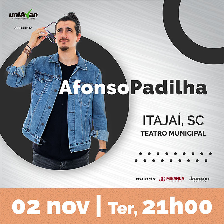 Itajaí 02.NOV :: Extra 21h :: Afonso Padilha