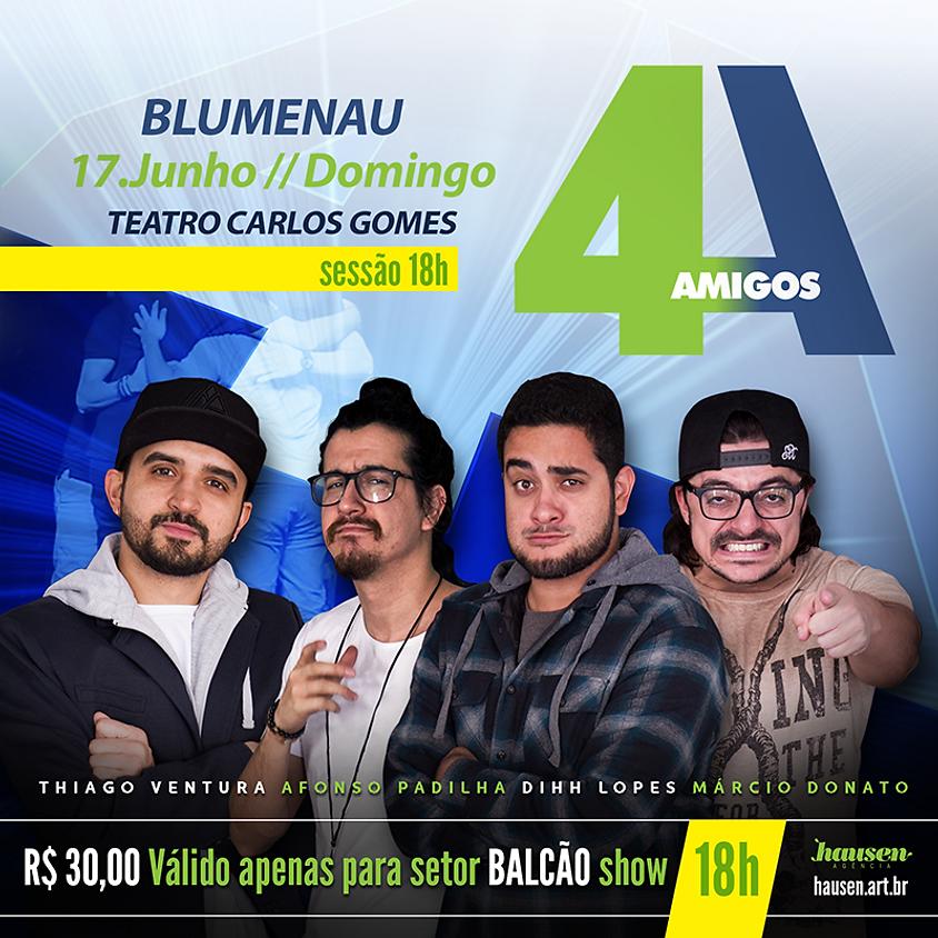 Show 4 Amigos :: 18h00