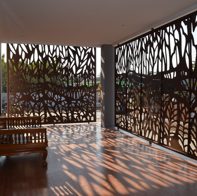 Front verandah - Thailand
