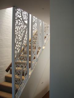 Oaktree stairwell detail