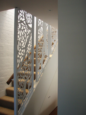 Oaktree stairwell detail