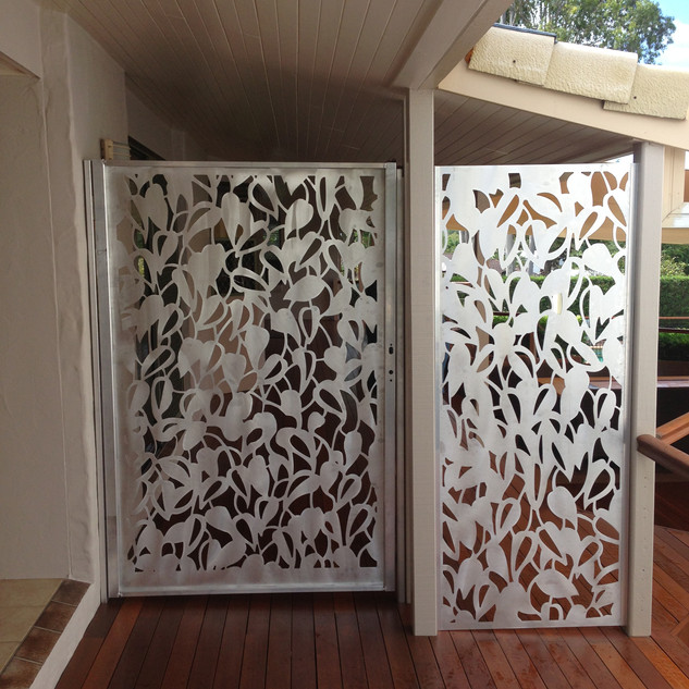 Ivy security gate and side panel