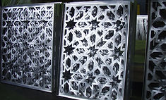 Multiple Aluminium screens