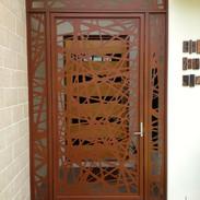 Screenart Entry security gate