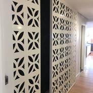 Screenart 3 panel sliding doors