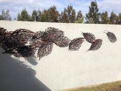 Autumn leaf Wall art