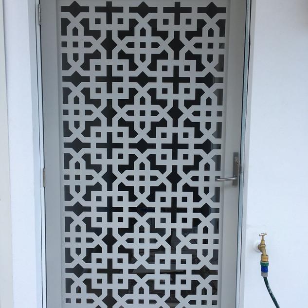 Security gate_door METRICON