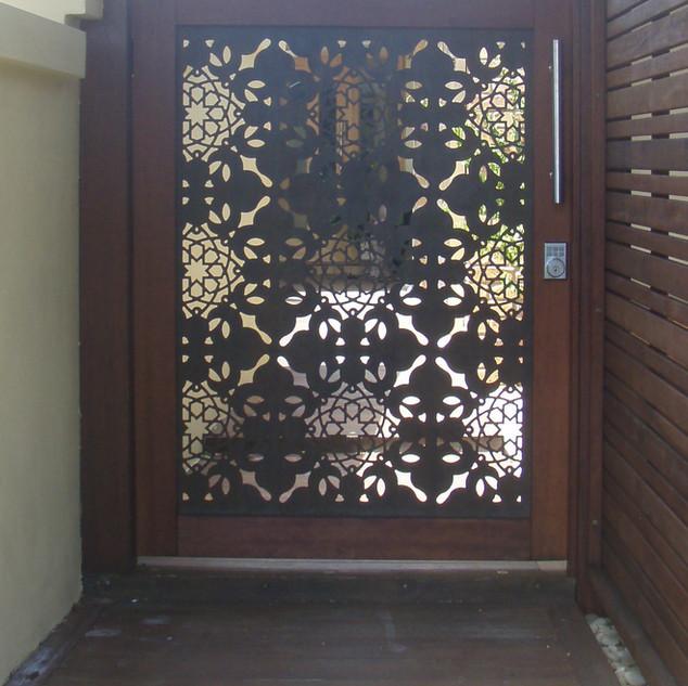 Screenart Entry gate