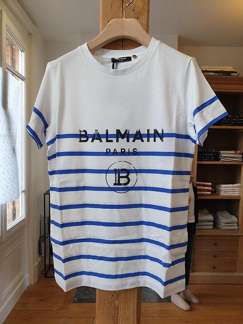 T-shirt marinière Balmain