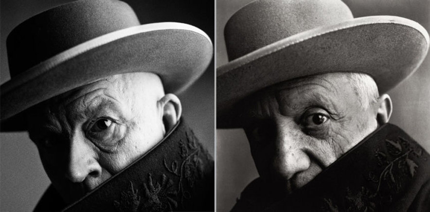 Irving-Penn-Pablo-Picasso-Cannes-France-
