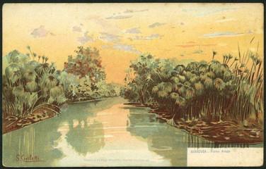 Il fiume Ciane
