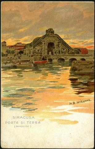 La Porta di Ligny -Autore H.B.Wieland
