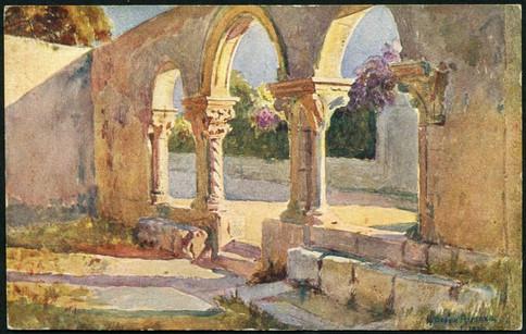 Portico seicentesco della Chiesa paleocristiana di S. Giovanni alle Catacombe