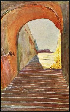 Castello Eurialo - Accesso ad un fossato