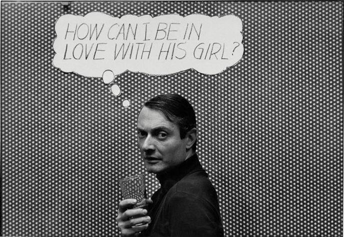 Ugo-Mulas-Roy-Lichtenstein-New-York-1964