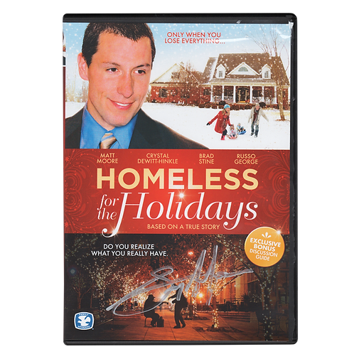 Homeless for the Holidays DVD (Autographed)