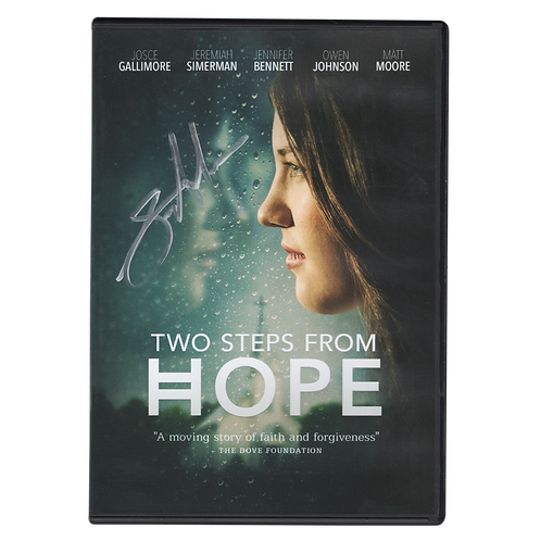 Two Steps from Hope DVD (Autographed)