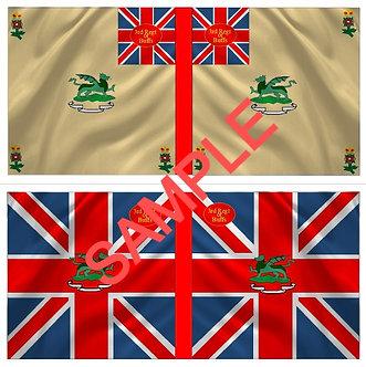 War of 1812 Flag sheet 1252-British 3rd Regiment