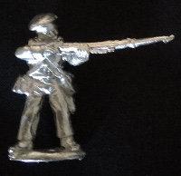 SAI  15 Cacadores standing, firing, wearing fatigue cap