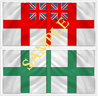 Liberators flags Sheet 1109 Thomas Manby's flag and Mac Gregor's flag