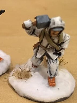 WWF20 Infantryman with satchel charge, wearing snowsuit
