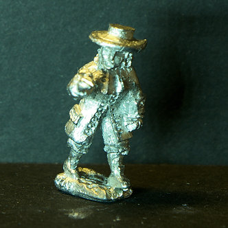 GRM34Rebel, advancing, wearing coat and hat, shouldered weapon