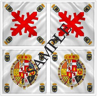 Liberators flags Sheet 1154 Royalist Arequipa Regiment