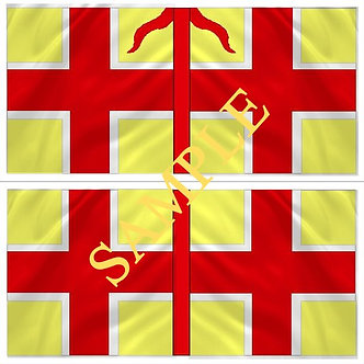 Williamite Flag sheet 56 Earl of Bath's Regiment