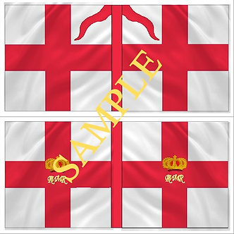 Williamite Flag sheet 55 Coldstream Guards