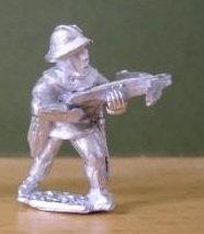 BSI 58  Crossbowman, ready to fire, wearing kettle hat