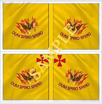 Jacobite Flag sheet 10 Eustace's  Regiment